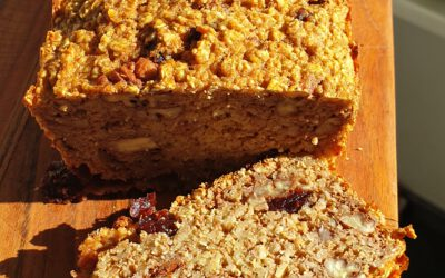 Appelmoes-havermout cake